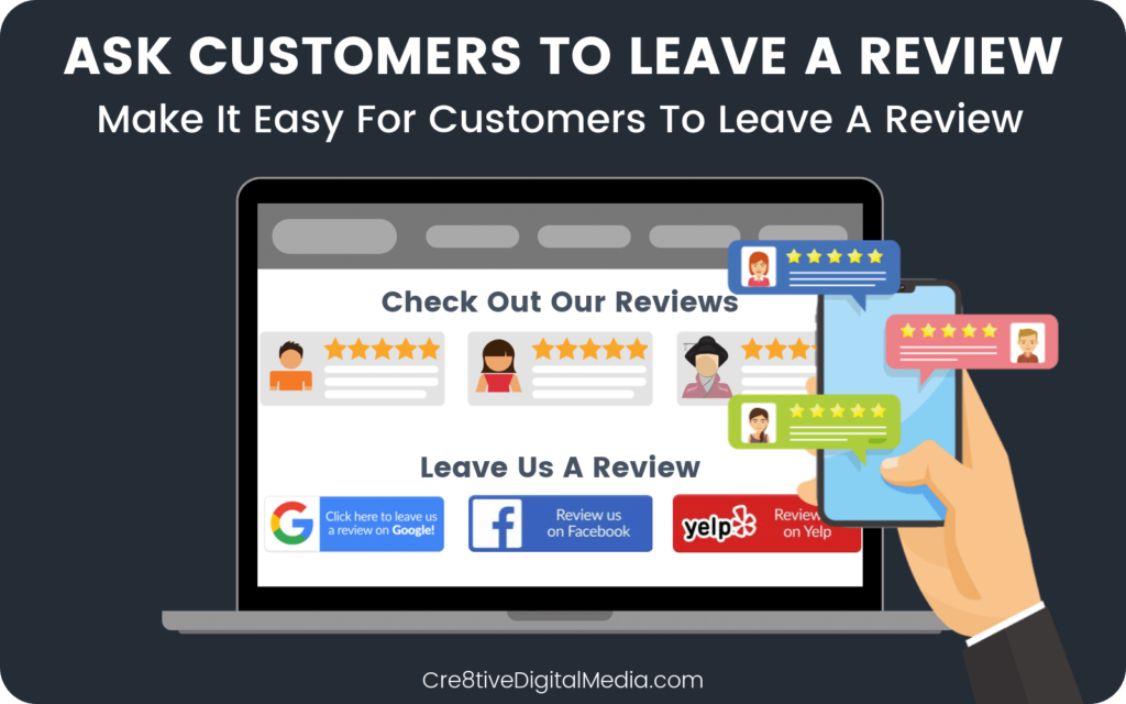 Ask Your Roofing Customers to leave a review