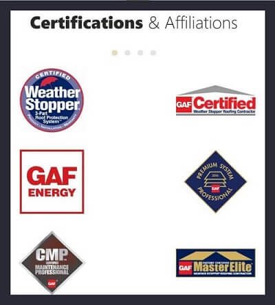 Display Certifications & Affiliations on your homepage