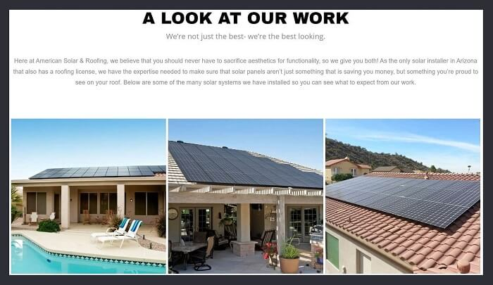 Showcase Recent Projects on your roofing website